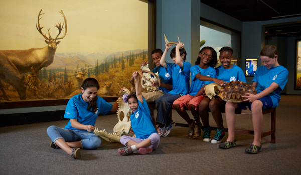 Group visits for kids at the Academy of Natural Sciences are discounted in summer.