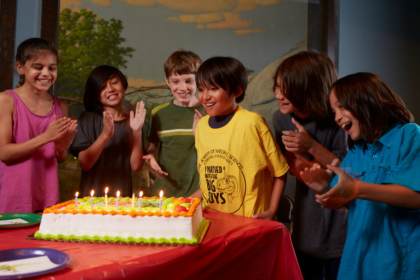 Have your dinosaur birthday party at the Academy of Natural Sciences!