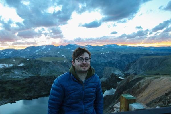 Mike Servedio at Beartooth Pass Overlook