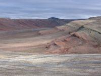 Daeschler's previous Arctic, not Antarctic, field site.