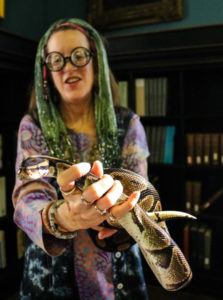 Meet live snakes at Wild Wizarding Weekend!