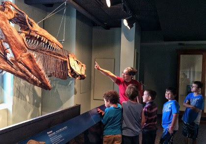 At spring camp April 10-14, get to know fossils and natural science.
