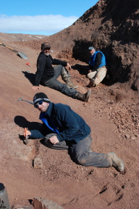 Tiktaalik field site