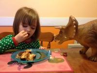 Hollie_Triceratops breakfast
