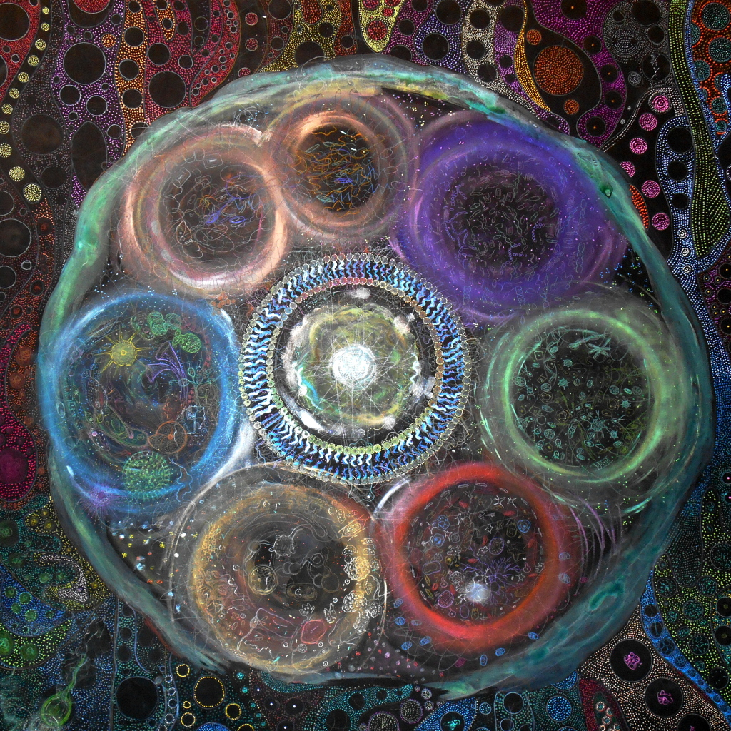 mandala with circles