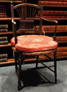 Did Darwin ever sit here? What do you think? ANS Coll. 2011.106.