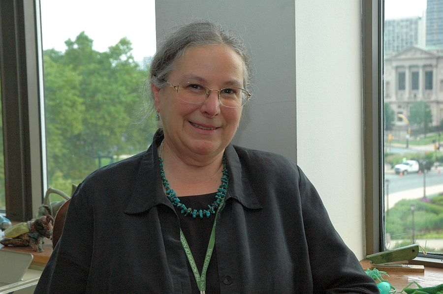 Volunteer Services Manager Lois Kuter