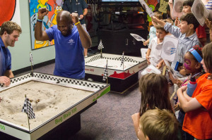 Roach racing is one of the big draws of Bug Fest. Photo by Meredith Dolan/ANS.