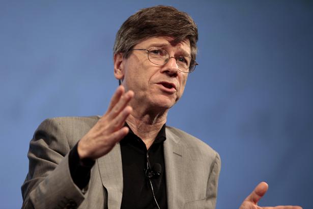 Jeffrey Sachs, keynote speaker