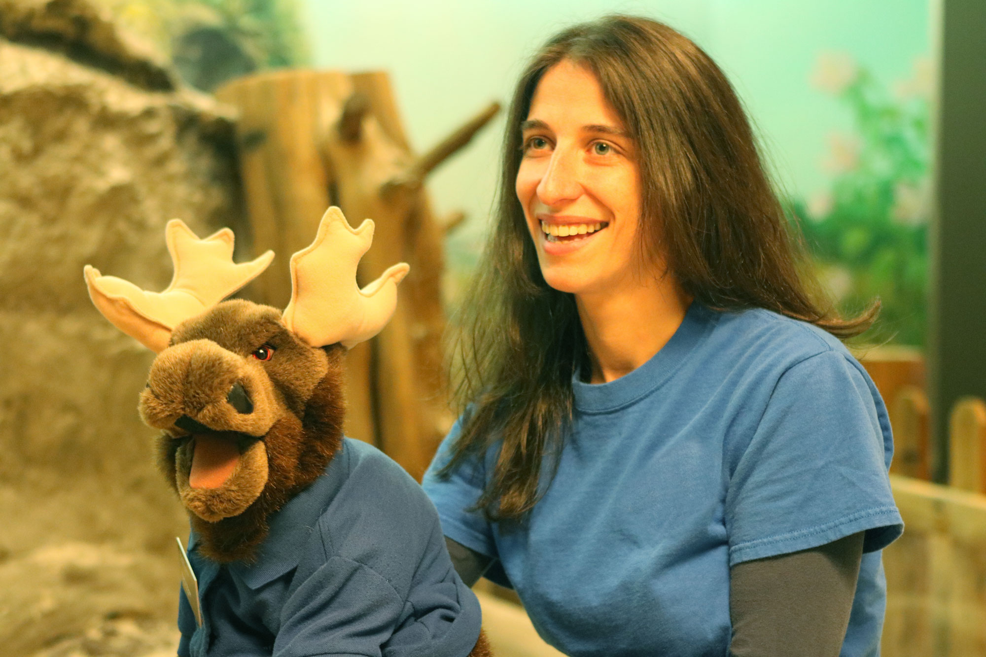 See the famous Marty the Moose and his staff sidekicks at the Academy of Natural Sciences' story time!