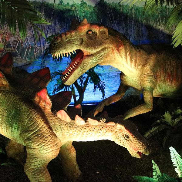 Allosaurus versus Stegosaurus