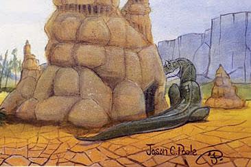 Detail from Jason C Poole's Suuwassea
