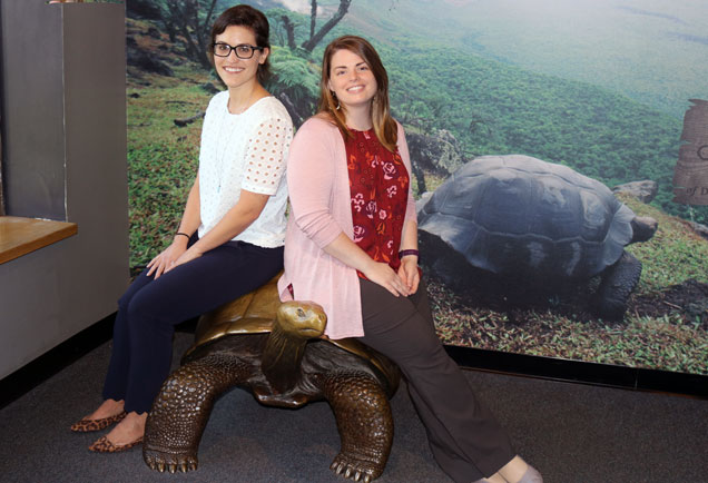 Membership team at the Academy of Natural Sciences