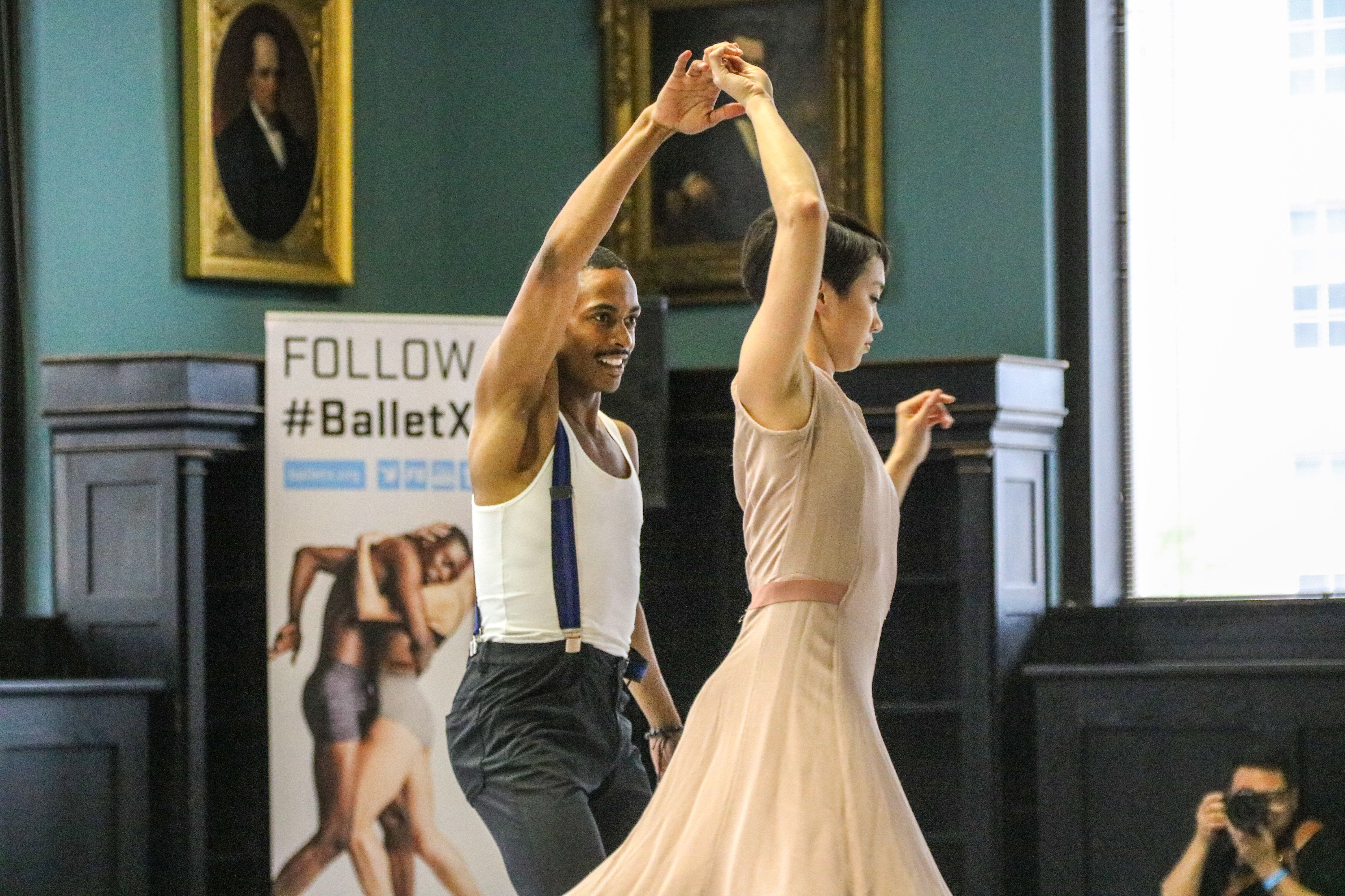 Performance by Ballet X in Academy Library