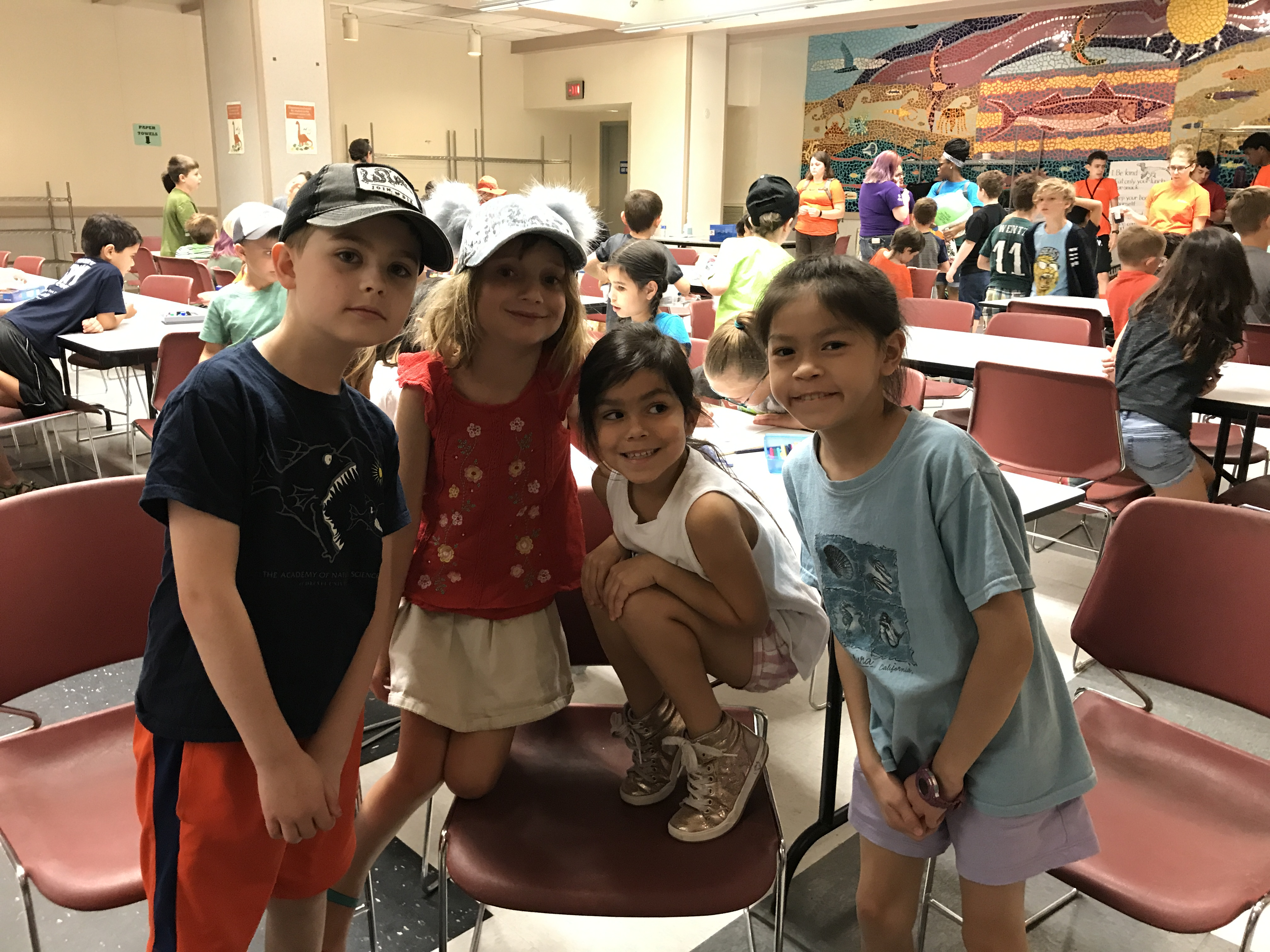Campers at Academy Science Camp