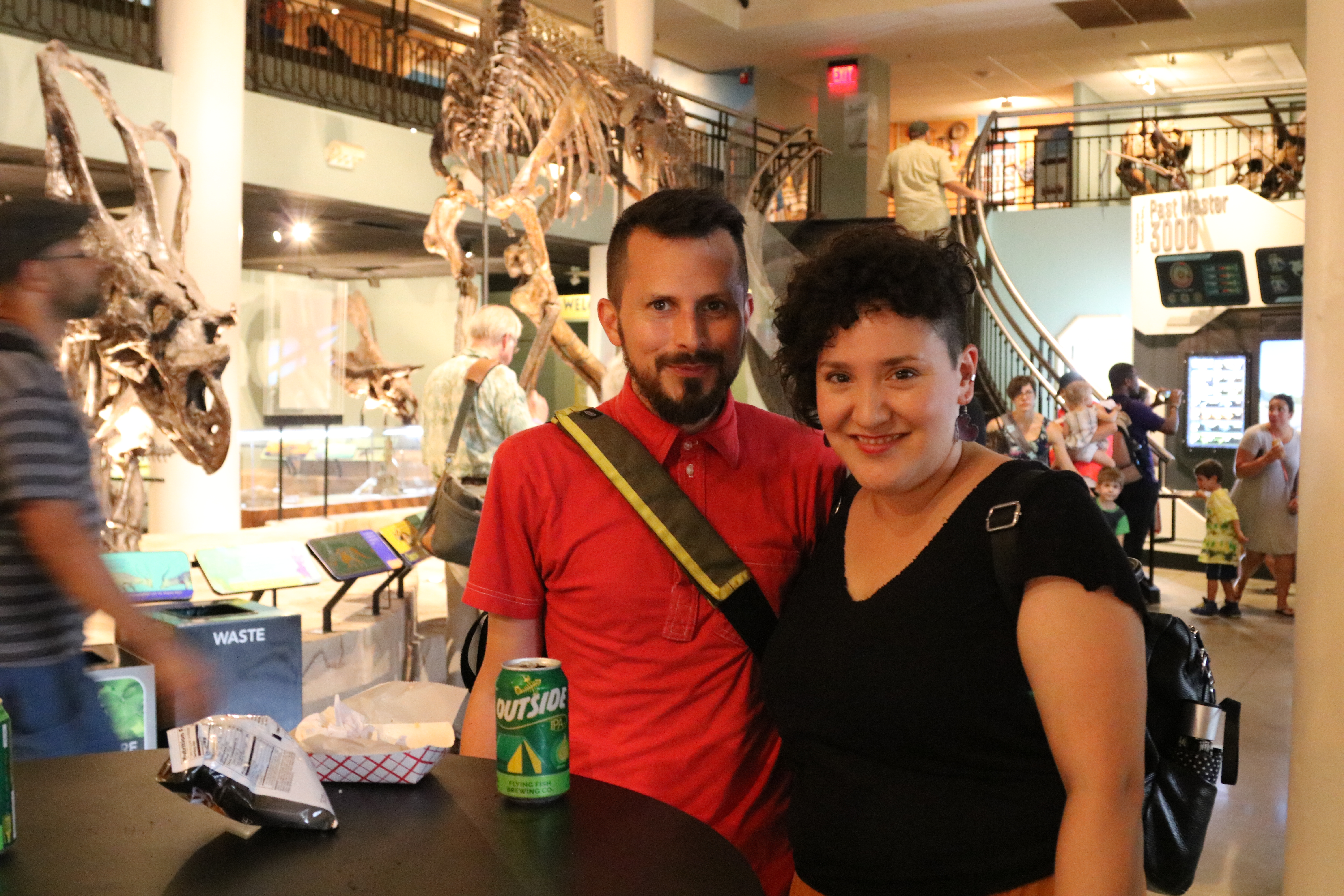 Dinos After Dark and Dino Drafts at the Academy of Natural Sciences