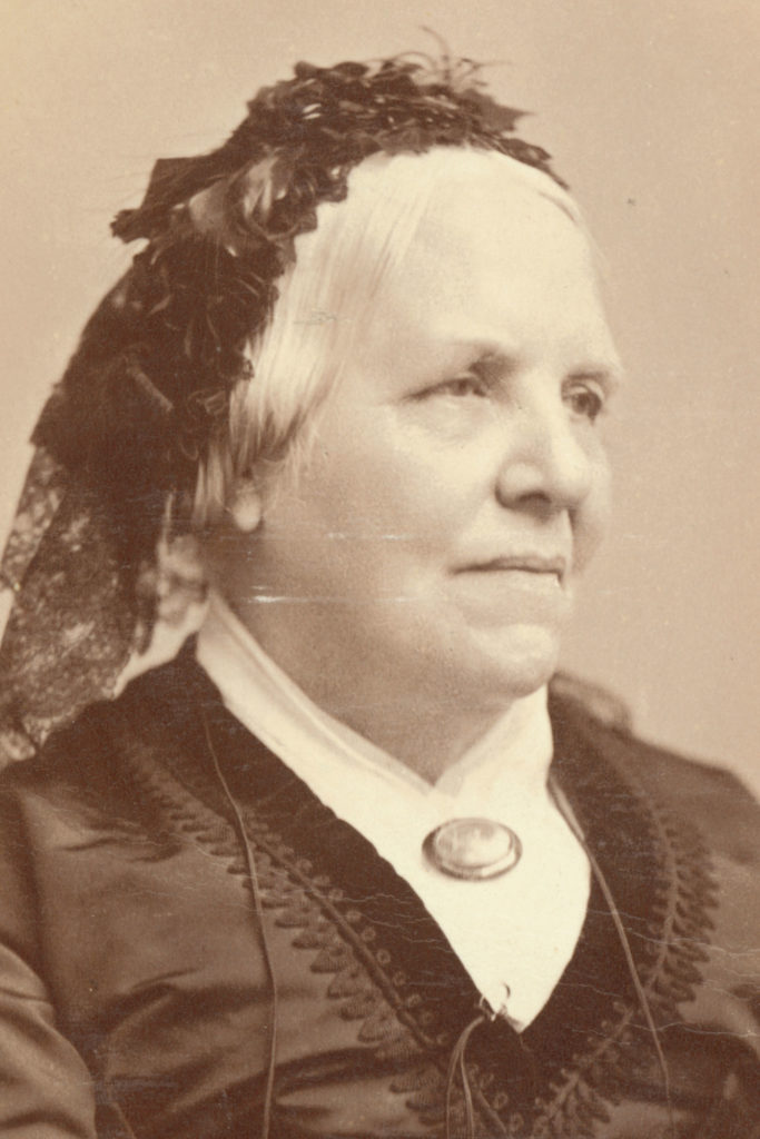 Photograph of Lucy Say, c. 1863, ANS Archives Coll 457