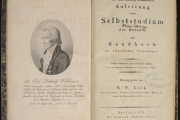 Title page from Willdenow book