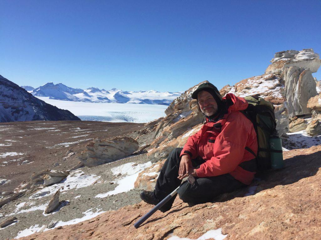 Ted Daeschler in Antarctic