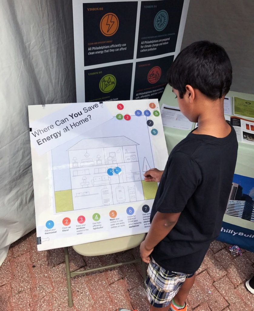 boy with chart